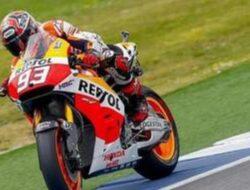 Marquez Raih Podium, Pedrosa dan Dua Ducati Kecelakaan