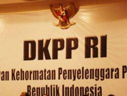 Kasus Dugaan Pelanggaran Komisioner KPU Diteruskan ke DKPP