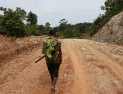 Di Mentawai, Jalannya Masih Rawa dan Tanah Statusnya Jalan Nasional