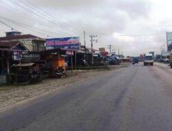 Pelebaran Jalan di Pulau Punjung Picu Pertumbuhan Ekonomi