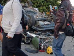Kecelakaan Beruntun di Lubuk Buaya Libatkan Empat Kendaraan