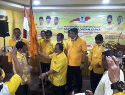 Yakub Saguruk Pimpin Partai Golkar Kepulauan Mentawai