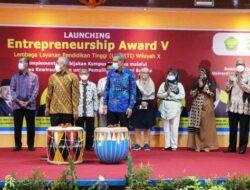 Kepala LLDIKTI Wilayah X Luncurkan Enterpreneur Award V 2021