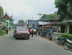 Bus Gumarang Jaya Tabrak Pelajar di Pitalah, 3 Tewas 2 Luka-luka