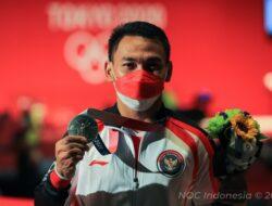 Eko Yuli Persembahkan Medali Olimpiade untuk Keluarga dan Rakyat Indonesia