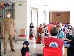 Wali Kota Solok Monitoring Mal Pelayanan Vaksinasi Covid-19 di PSM