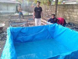 Mantan Pecandu Narkoba di Padang Dapat Pelatihan Beternak Ikan