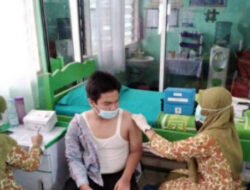 Ratusan siswa SLTA ikuti Vaksinasi di Lubuk Basung