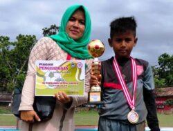 SSB IMAM BONJOL KAWINKAN JUARA NETRAL UNITED CUP 2021, M. Zada Zalpin Bintang Lapangan U10