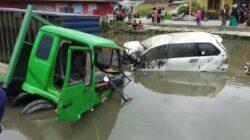 Ini Penyebab Kecelakaan Beruntun di Sungai Buluah Agam