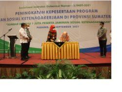 Lindungi Nelayan, DKP Sumbar Teken MoU dengan BPJamsostek