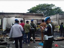 Kebakaran Landa Pasar Serikat Baso, tak Ada Barang yang Bisa Diselamatkan