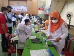 Polres Agam-Pemkab Gelar Vaksinasi Massal dengan Target 1.000 Orang